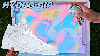 HYDRO Dipping AIR JORDANS 1's!