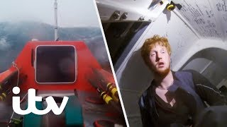 Surviving a 3 Day Storm in the Atlantic Ocean | Weather From Hell: Caught on Camera | ITV