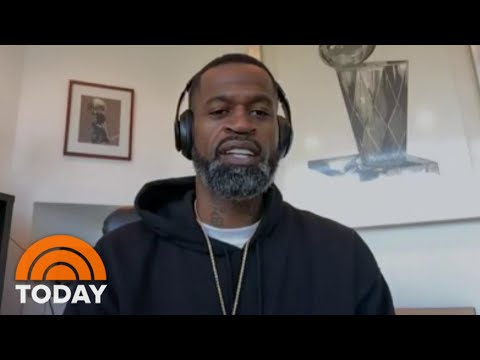 Former NBA Star Stephen Jackson Speaks Out About George Floyd, Drew Brees | TODAY