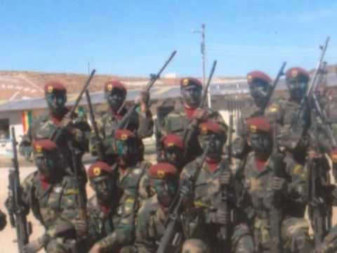 Himno al arma de caballeria -ejercito de bolivia