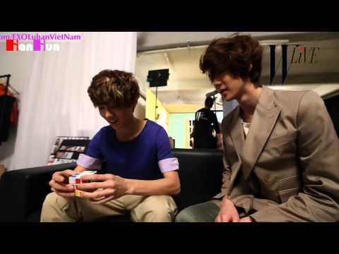 [Vietsub] [W-Live S.M. Fashionistas] 120119 Clip KAI & SE HUN & LU HAN