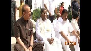 BJP Govt in Karnataka: Congress MLAs protest Yeddyurappa's swearing-in as CM