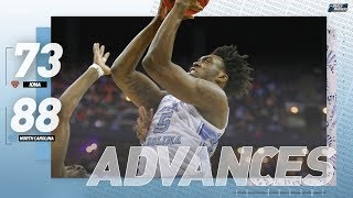 North Carolina vs. Iona: First round NCAA tournament extended highlights