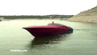 Lightning fast powerboat