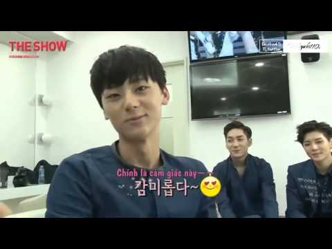 [Vietsub] 140715 SBS Behind The Show with NU'EST