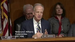 Sen. Moran Questions Dr. David Shulkin, Nominee for VA Secretary (First Round)