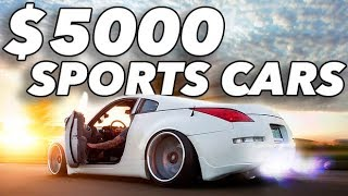 Top 10 Sports Cars Under $5000