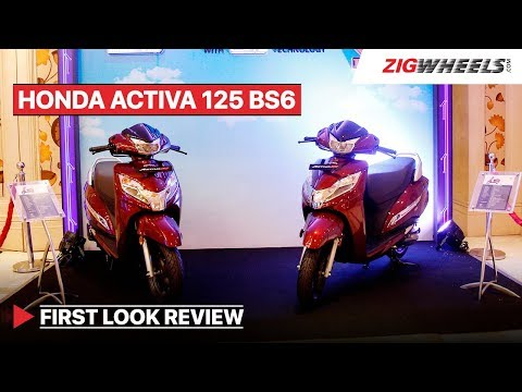 Honda Activa 125 BS6 First Look Review, Launch, Mileage, Price & More