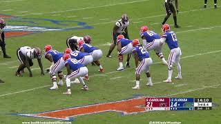 2018: #15 Florida Gators vs. South Carolina Gamecocks