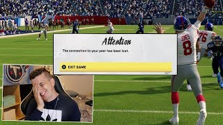 I used Daniel Jones against a Giants fan, and he freaked out & Quit!