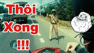 Biker Vs Police Funny | Vietnam MotoVlog | Rin Rin |