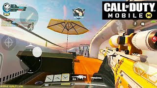 Call of Duty: Mobile - SNIPING GAMEPLAY on HIJACKED & RAID (ANDROID / iOS)