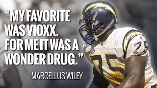 'We're not medical students': Marcellus Wiley reflects on painkillers in the NFL