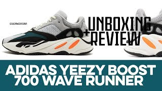 UNBOXING+REVIEW - adidas Yeezy Boost 700 Wave Runner