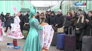 В Омск прибыл знаменитый хореографический ансамбль «Берёзка»