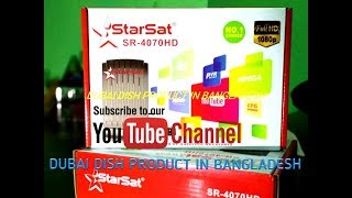 StarSat SR 1515HD Prime Satellite Receiver Unboxing Videos