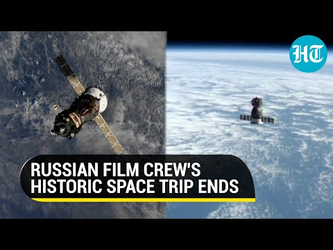 Space trip ends: Watch how Russian actor, director came back to Earth after film shoot in orbit