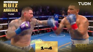 ROUND 1 al 4: ¡SORPRESA! Arreola maltrata a Andy Ruiz I Andy Ruiz vs Chris Arreola I TUDN