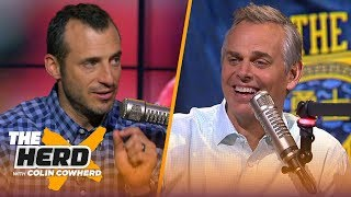 Doug Gottlieb on Harden blaming refs for Game 1 loss, talks Josh Rosen trade & KD | THE HERD