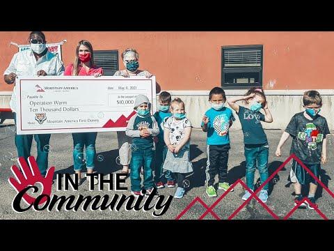 Mountain America Donates New Shoes to Pocatello Preschoolers