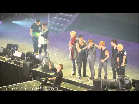 SS5 Super Junior London feat. EXO Kris and Suho - last stage