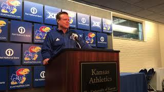 KU coach Bill Self on Selection Sunday