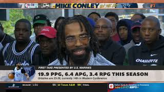 "Stephen A. Smith & Mike Conley crew reacts to ""Grizzlies trade Marc Gasol to Raptors"" 