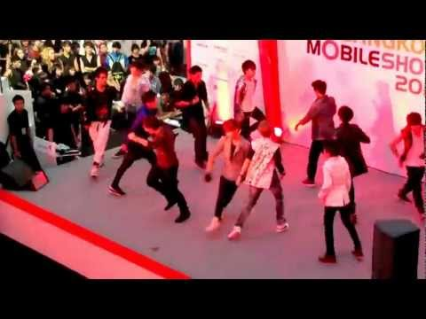 120610 The Most Wanted cover EXO-K @Bangkok Mobile Show Cover Dance 2012(Final Round)
