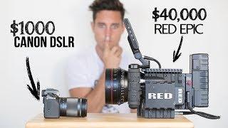 $1000 Camera VS  $40,000 Camera | Explained