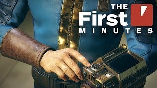 Fallout 76 - The First 16 Minutes
