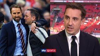 Gary Neville praises Gareth Southgate for giving England an identity