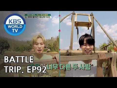 Battle Trip   배틀트립 – Ep.92: Hongbin & N's trip to Pai, Thailand! [ENG/THA/2018.06.03]
