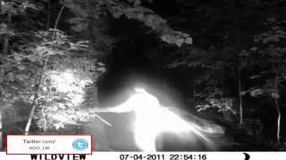Real mistery: l'immagine di un angelo ripresa nei boschi di Georgia in America