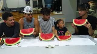 Watermelon Eating Contest with the Dobre Brothers