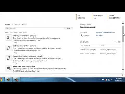 CRM 2013 How to Make a Sales Order