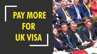 Indians have to pay more for UK visa..