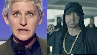 CELEBRITIES REACT TO EMINEM DONALD TRUMP DISS FREESTYLE CYPHER