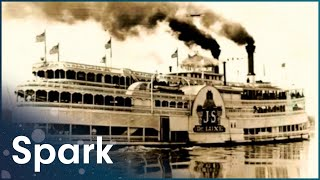 The SS President Steamship: America's Largest And Most Famous Steamboat   Huge Moves   Spark