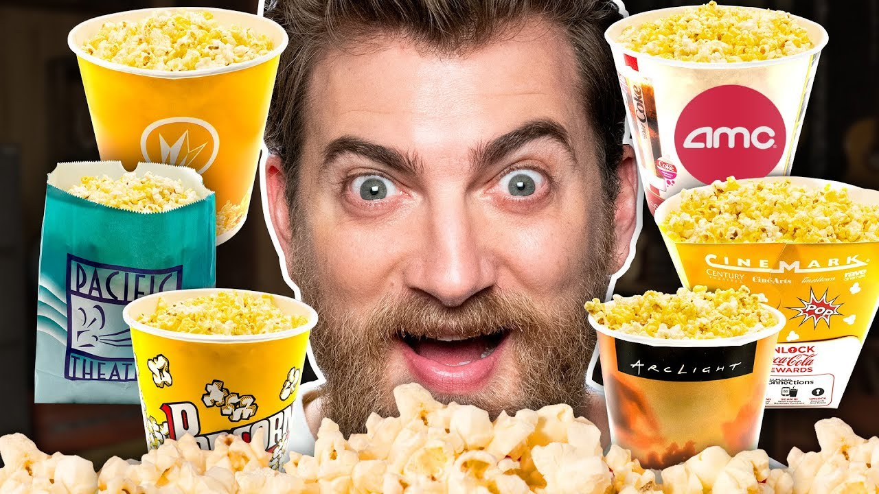 Movie Theater Popcorn Taste Test
