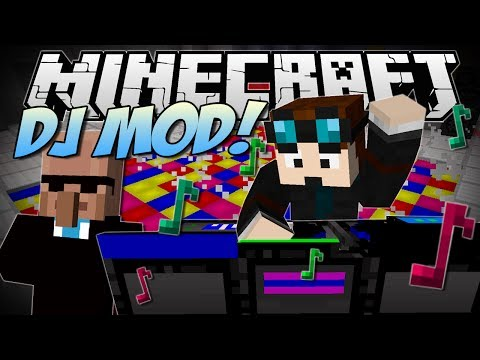 Minecraft | DJ PARTY MOD! (Dr Trayaurus' Ultimate Party!) | Mod Showcase - TheDiamondMinecart  - -BEmT5CWYxo -