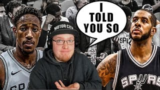 Reacting To How To Fix The San Antonio Spurs