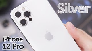Silver iPhone 12 Pro Unboxing & First Impressions!