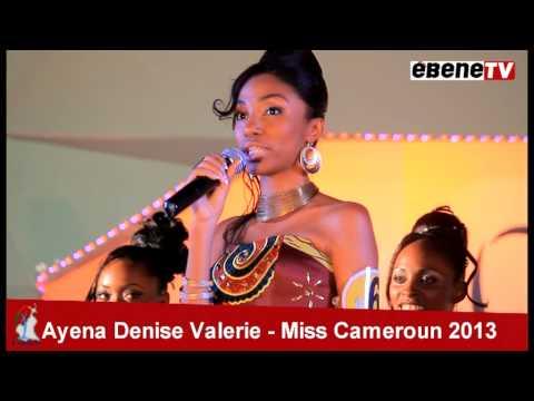 Ayena Denise Valerie miss cameroun 2013 - le sacre