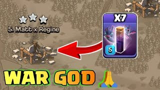 THREE STAR EVERY BASE WITH BAT SPELLS,GOD WAR ATTACK IN CLASH OF CLANS