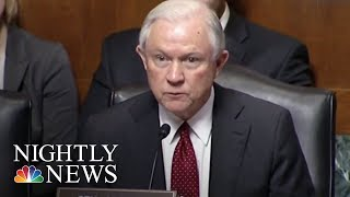 Attorney General Jeff Sessions To End Obama-Era Policy On Legalized Marijuana | NBC Nightly News