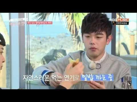 에릭남(Eric Nam)&엠버 제주도 식사 먹방 @어느 멋진 날