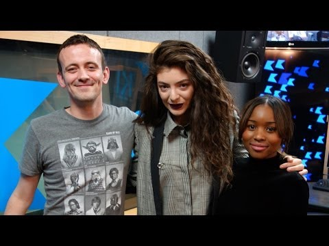 Lorde interview at KISS FM (UK)