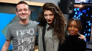 Lorde interview at KISS FM
