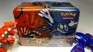 Opening: Pokemon Treasure Chest! ORAS-themed lunchbox tin FULL of goodies!