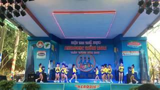 Aerobic Đất Nam - vui đến trường - thi đấu aerobic mầm non 2018